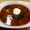 Black Bean Chili with Butternut Squash & Kale
